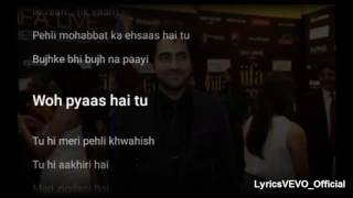 IK VAARI Lyrics Video Song | Feat. Ayushmann Khurrana & Aisha Sharma | New Song 2016