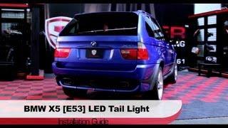 Spyder Auto Installation: 2000-06 BMW X5 [E53] LED Tail Lights