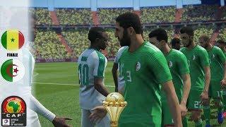 SENEGAL Vs ALGERIE - Final CAN 2019 - Le senegal perd sa defense avec l'absence koulibaly - Pes 2019