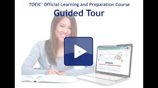 This is a short demonstration of the TOLPC: discover the new TOEIC®...