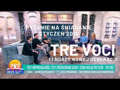 Tre Voci Pytanie Na śniadanie Tvp2 Wywiad Youtube