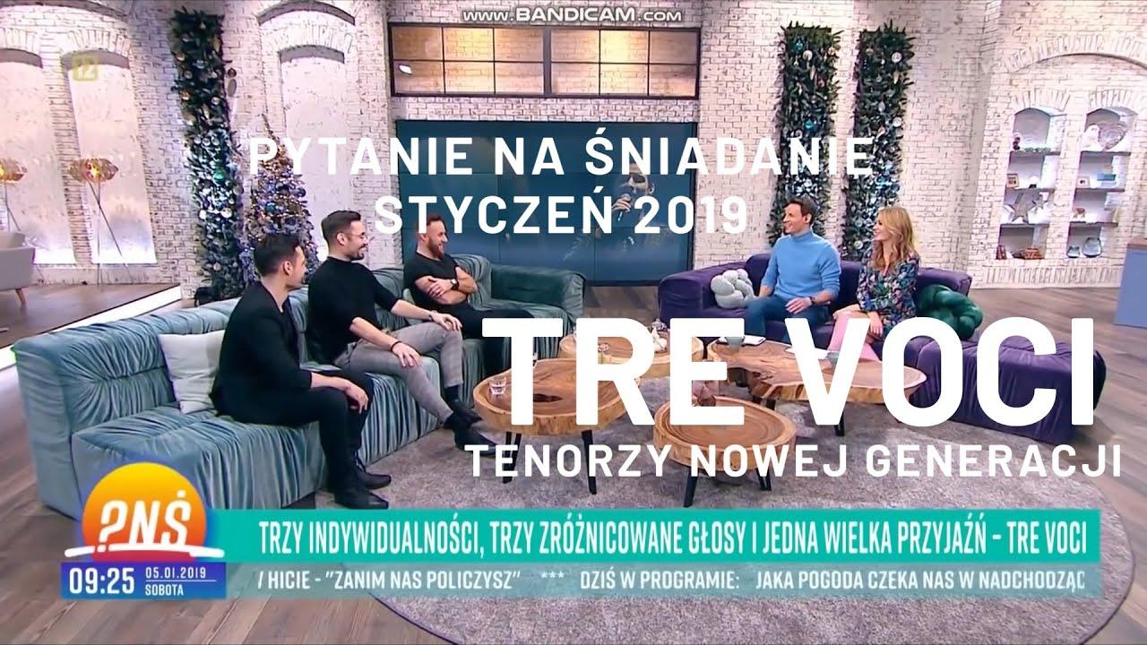 Tre Voci Pytanie Na śniadanie Tvp2 Wywiad