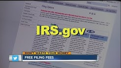 Don't Waste Your Money: Free income tax filing fees
