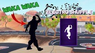 la danse fortnite electro shuffle va avec tout video - balance la sauce fortnite