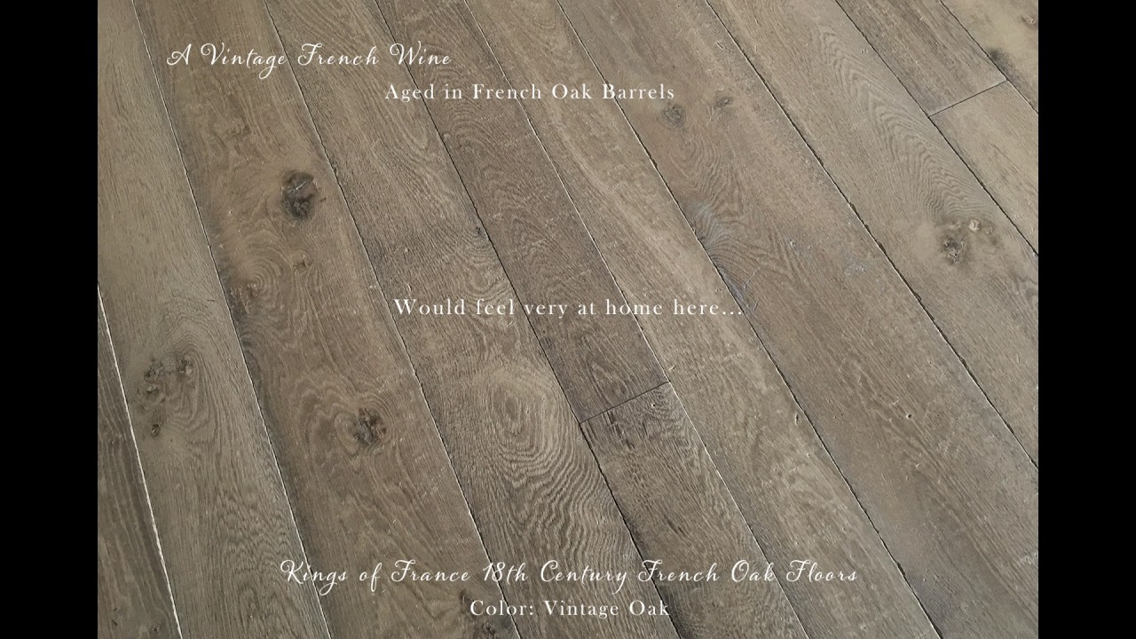 Kings Of France 18th Century French Oak Floors In Vintage
