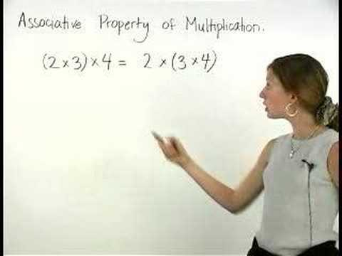 Associative Property of Multiplication - MathHelp.com