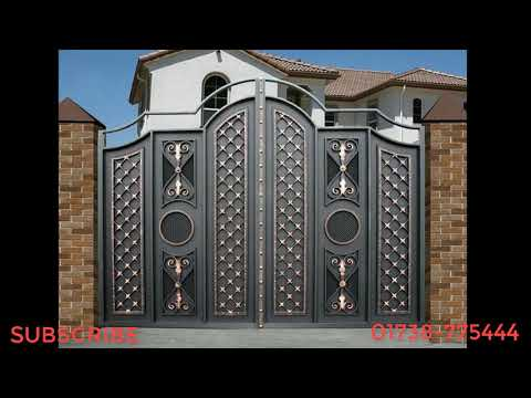 Iron Gate design and Construction !!!