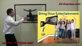 Smart Tv Wall Mount Bracket W Interactive Arm