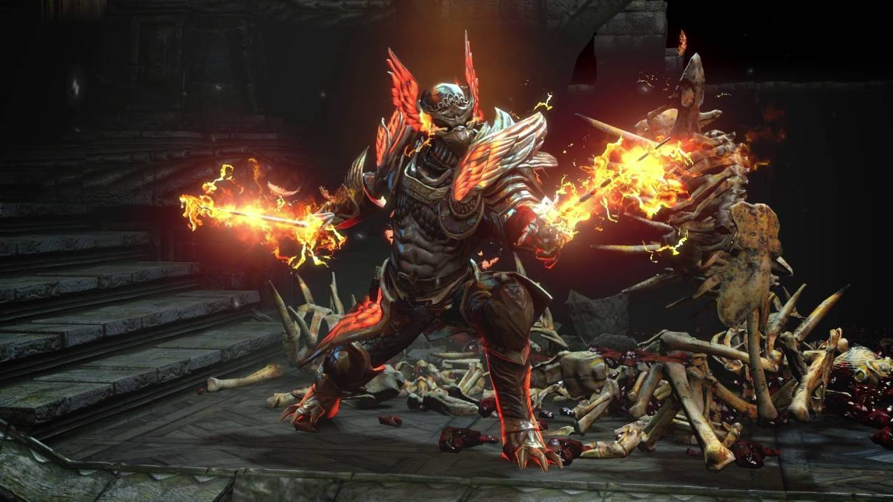 Path Of Exile Phoenix Supporter Pack Armour Set And Weapon Effect