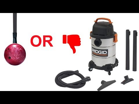 RIGID Wet/Dry Shop Vac 6 Gallon Overview/Review WD6425