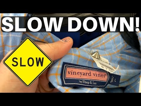 SLOW DOWN! ✋ You're Missing All The Deals! Thrift Store Haul - Vineyard Vines & More! - Ralli Roots