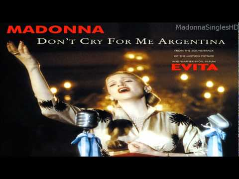 Download musik Madonna - Don't Cry For Me Argentina (Miami Spanglish Mix) gratis