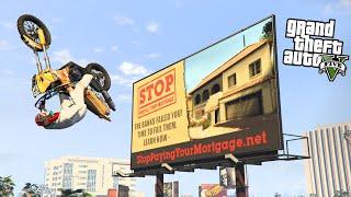 """NIESAMOWITE STUNTY NA BILBORDY w GTA 5 Online Hogaty, Sylo i Shepard """"WYZWANIE EKIPY"""" #43"""