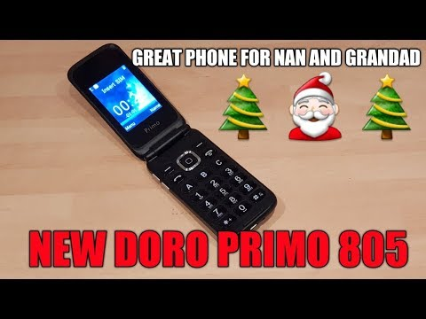 NEW Doro primo 805 Phone Review UK
