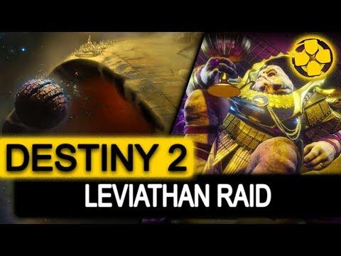 Destiny 2 🔴   Warlock   Leviathan Raid   Start to Finish   PS4 Pro Gameplay