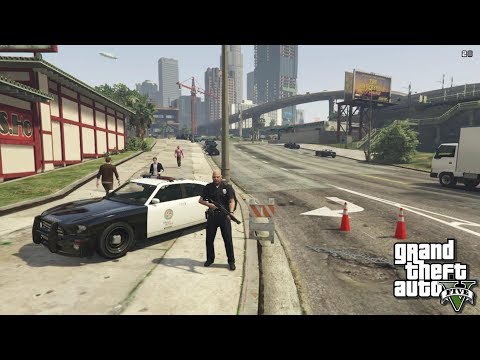 Как установить мод на полицейского в гта 5