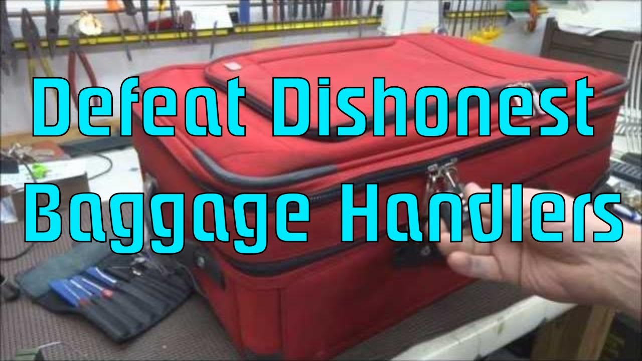 Suitcase Locks Are Basically Useless, but There Is One Way