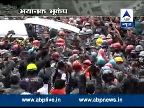 Nepal Earthquake: Woman rescued from debris after 5 days