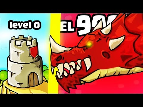 IS THIS THE STRONGEST CASTLE TOWER EVOLUTION? (HIGHEST LEVEL HERO UPGRADE) l Grow Castle New Game