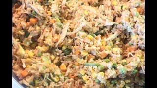 Cooking 101: Chicken Fried Rice