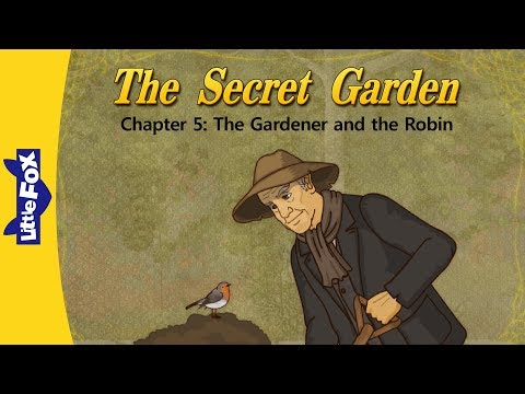 英語動畫《秘密花園》第5集 The Gardener and the Robin @ Little Fox 小狐貍英語動畫官方部落格 :: 痞客邦