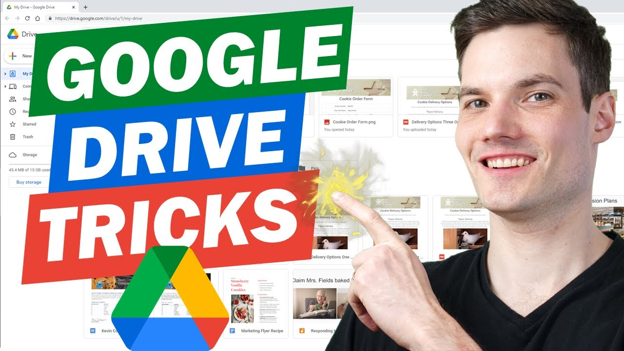Top 12 Google Drive Tips & Tricks