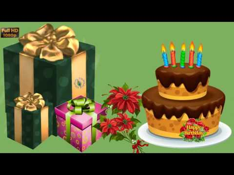 Happy Birthday in Hebrew, Greetings, Messages, Ecard, Animation, Latest Birthday Wishes Video