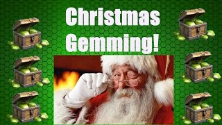 Clash of Clans MASSIVE GEMMING SPREE $150 of gems! Christmas Gemming Number 2