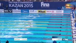 Чемпионат Мира по плаванию 2015 200 метров вс Ledecky Kazan 2015  200 freesyle final