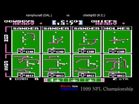 NTF 1999 NFL Championship Dallas Cowboys 9-1 vs Kansas City Chiefs (chiefsjr83) 8-2