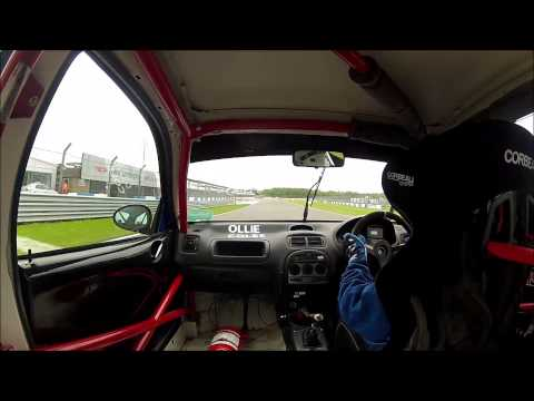 MG ZR 170 Donington park Peter Best Insurance MG Cup 2015
