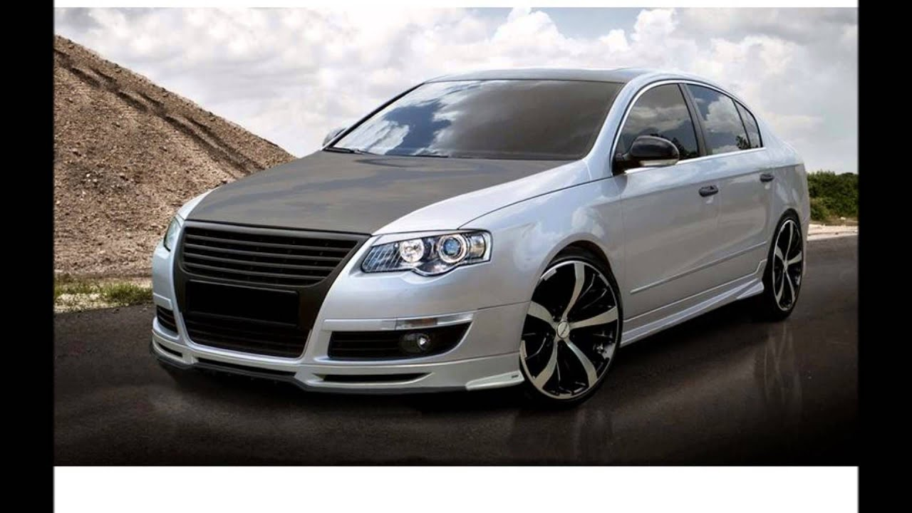 vw passat b6 and cc tuning body kit youtube. Black Bedroom Furniture Sets. Home Design Ideas