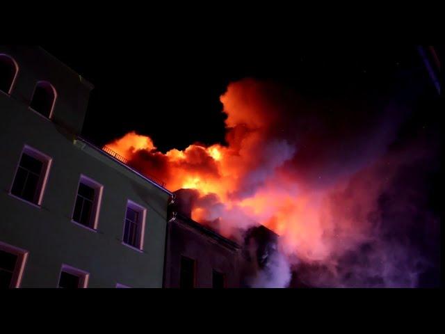 Großbrand in Reichenbach fordert 2 Todesopfer