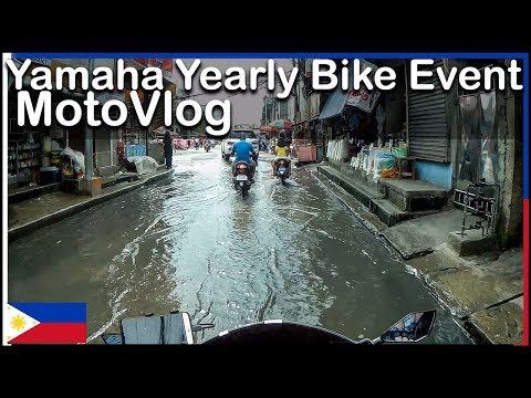 Yearly Yamaha Event - Caloocan Philippines - MotoVlog