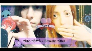☆ASMR Español Sonidos Cosquillosos Neko ASMR + Kiki( Mouth Sounds/Pop Rocks/Brushing)☆