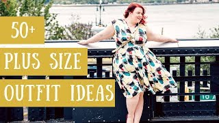 3 Year Fashion Journey | 50 PLUS SIZE OUTFIT IDEAS