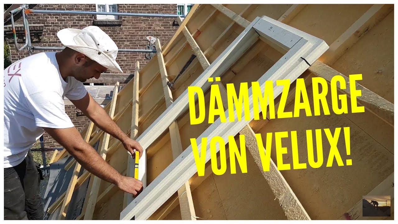 dachdecker / velux dachfenstereinbau mit dämmzarge / installing roof