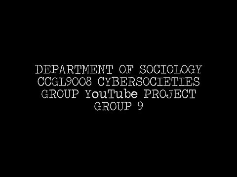 CCGL9008 Group 9 project: Youth, Digital Activism and Clicktivism in Hong Kong