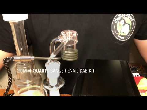 Quartz Enail Dab Kit In Use – Puffing Bird – Gear Review Series