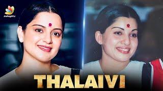 Kangana's Thalaivi New Look Without Special Effects | Thalaivi Teaser, Kangana Ranaut, J Jayalalitha
