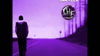 Eminem Ft. Lil Wayne- No Love (Chopped & Slowed By DJ Tramaine713)
