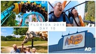 WALT DISNEY WORLD & FLORIDA VLOG - SEPT 2019 - DAY 10 - BUSCH GARDENS *AD*