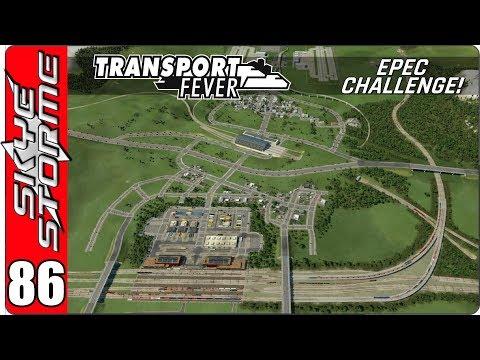 ►BIGGLESWADE ROAD NETWORK◀ Transport Fever EPEC Challenge Ep 86