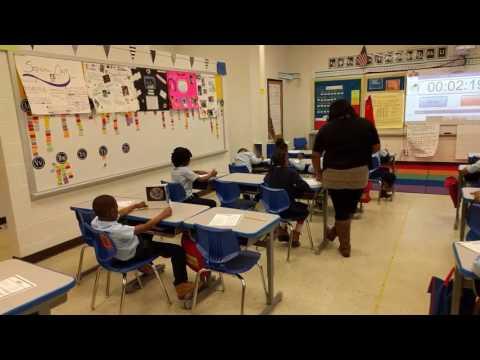 Kva school review arrival 2nd grade 8:28 am