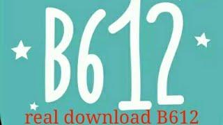 Gambar cover B612 real cemra download