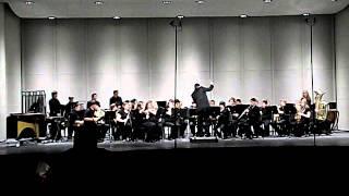Forbush High School Bush Band MPA 2012- Where the Black Hawk Soars