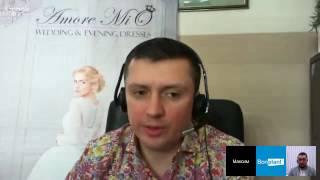 """Свадебные салоны """"Amore MiO"""": интервью у основателя компании Максима Быкова берёт Ильнур Ахмеров"""