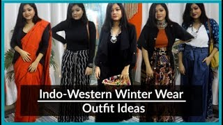 Indian Ethnic Outfit Ideas for Winter | Indo-Western Winter Wear Lookbook
