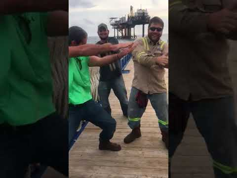 Baby Shark Challenge Offshore Workers Get Down In The Gulf Of Mexico