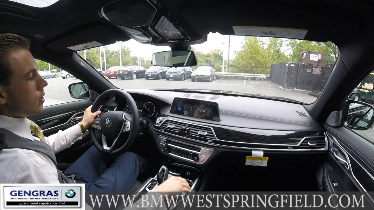take a look inside the 2017 bmw 7 series from bmw of west. Black Bedroom Furniture Sets. Home Design Ideas